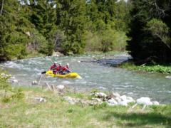 Rafting in the High Tatras
